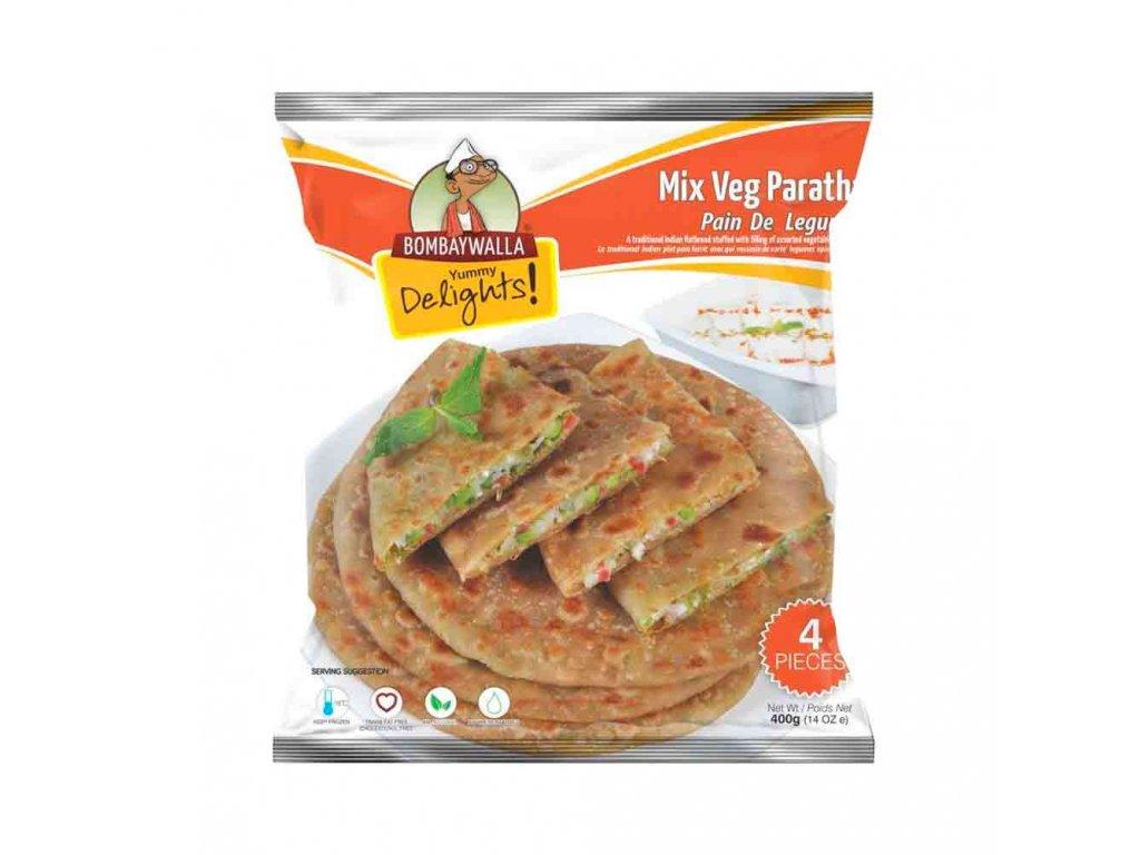 Bombaywalla Paratha Mix Veg 400g