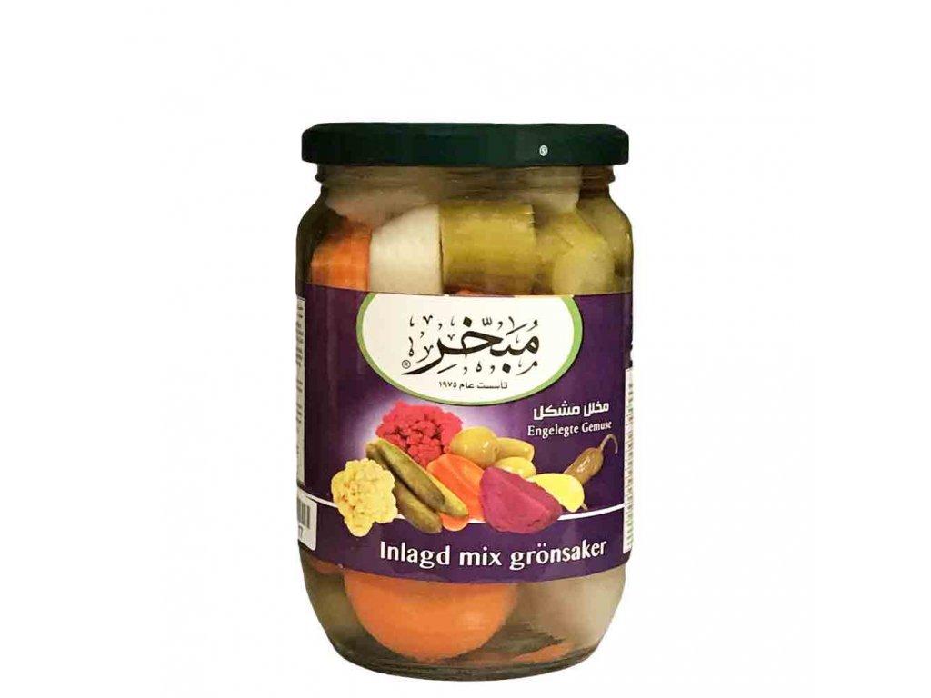 Zelenina nakládaná mix 660g