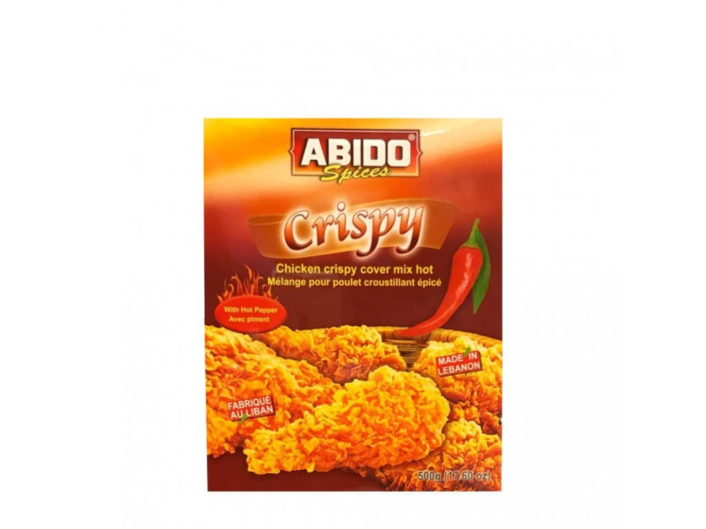 Abido Crispy Mix Spices (HOT) 500g