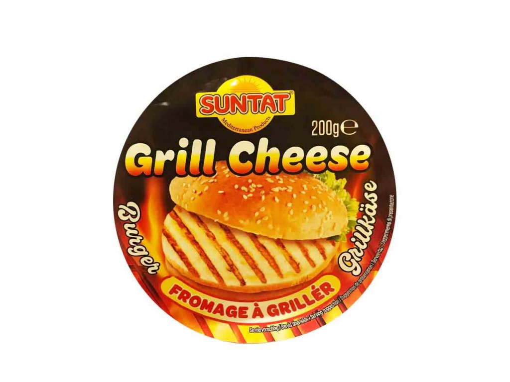Suntat Burger grill cheese 200g