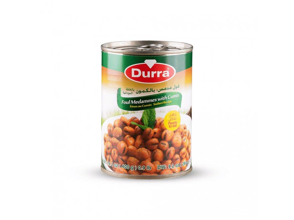 Durra Boby konzerva s kmínem Súdánský Recept 400g