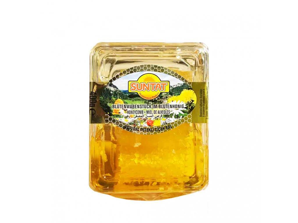 Suntat Med s včelí pláství 400g