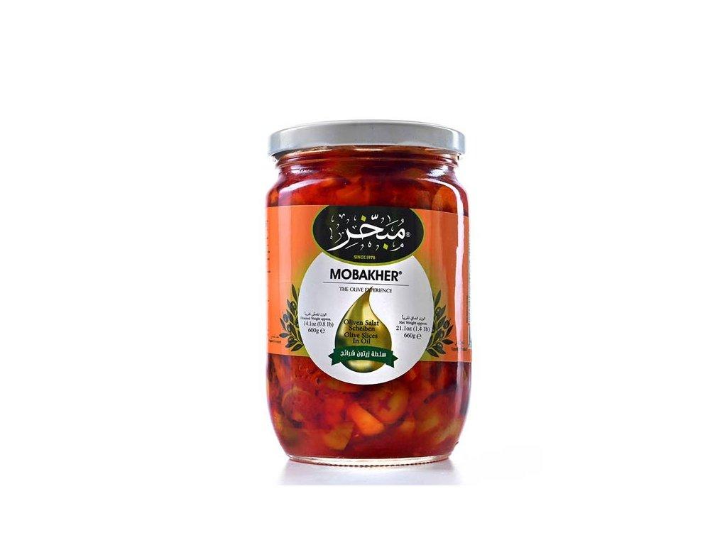 Mobakher Olivový Salát 660g