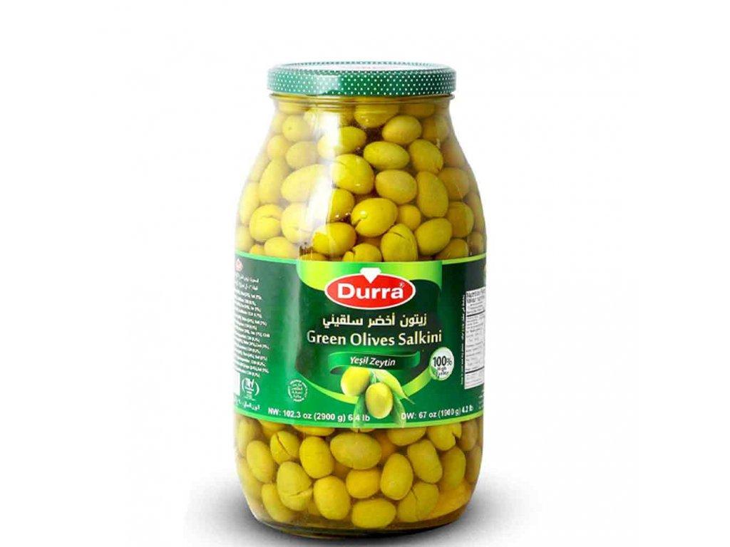 Durra Olivy zelené, Salkini 2900g