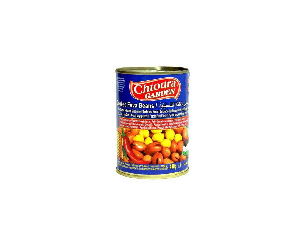 Chtoura Garden Boby konzerva Palestinský recept 400g