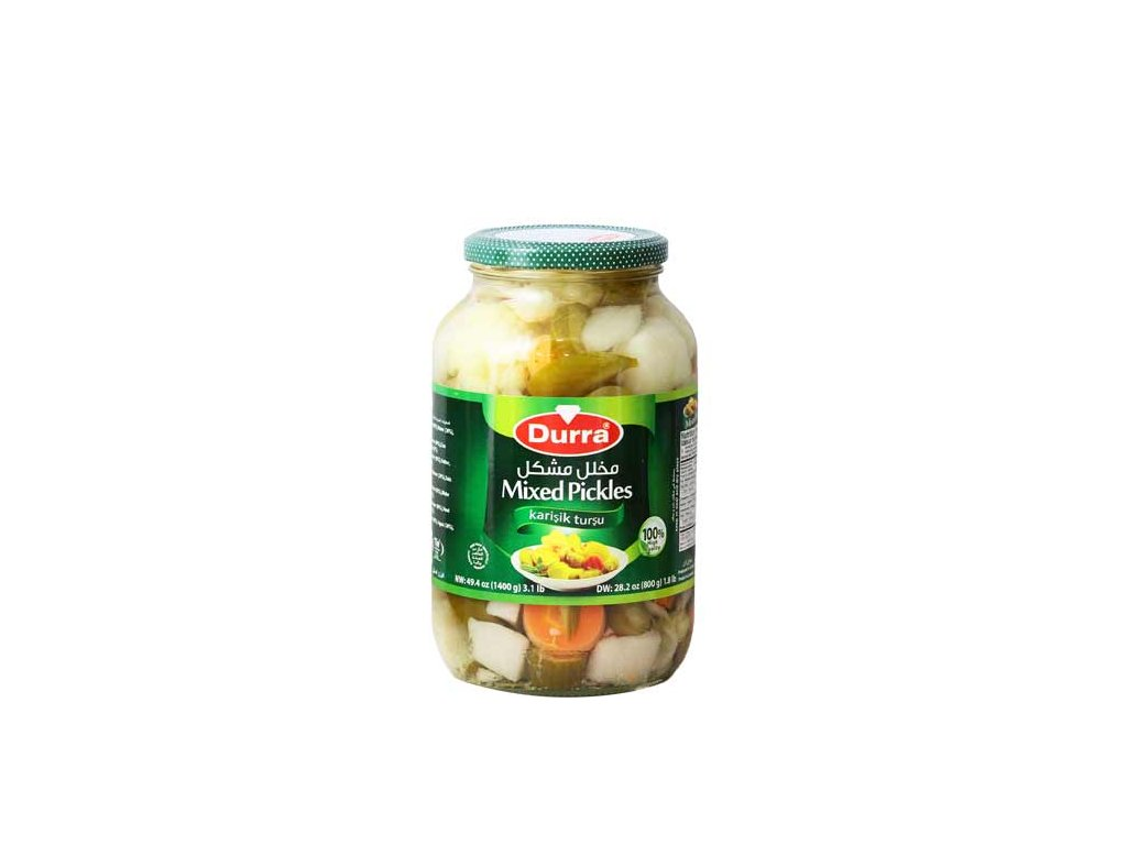 Durra Zelenina nakládaná mix 1400g