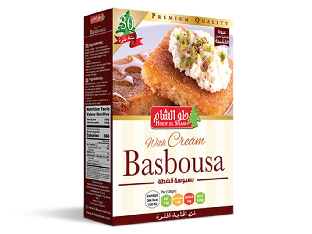 Basbousa with cream 420g
