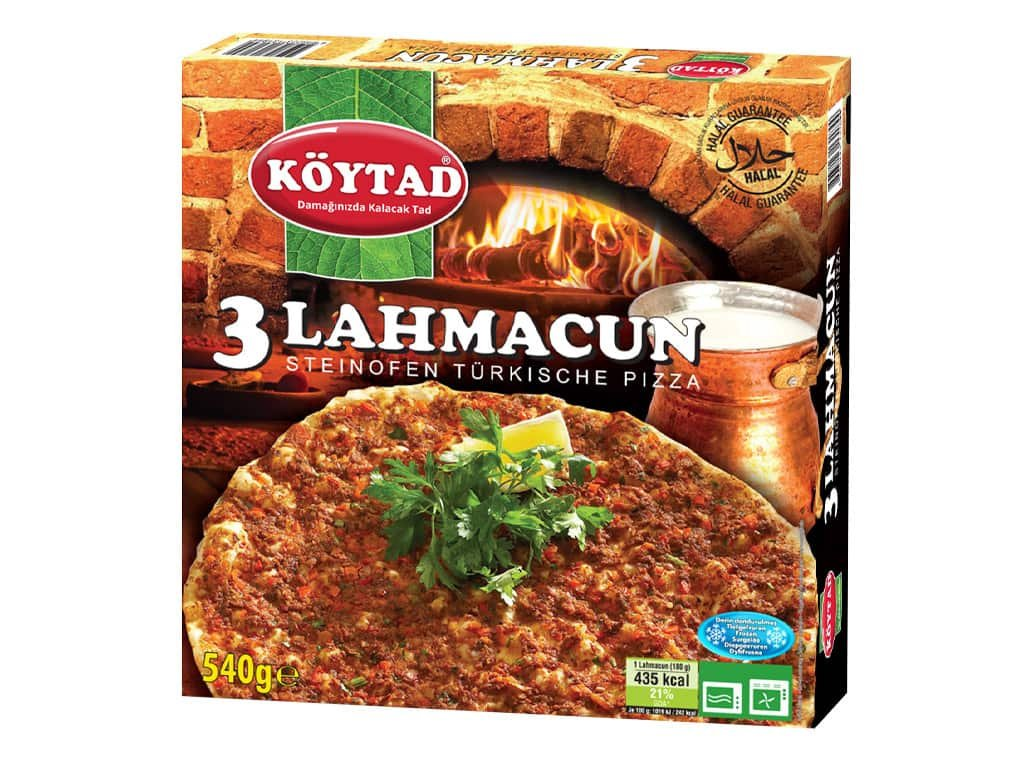 koytad turkish pizza 3x lahmacun