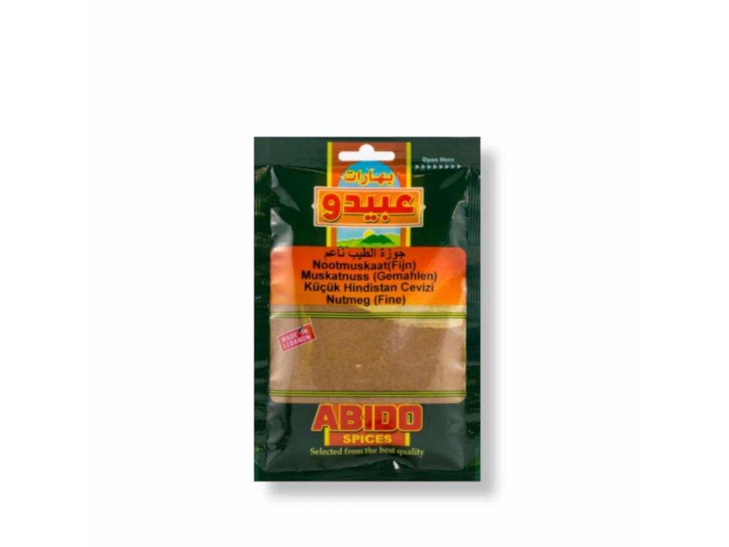 Abido Muškátový oříšek Mletý 50g