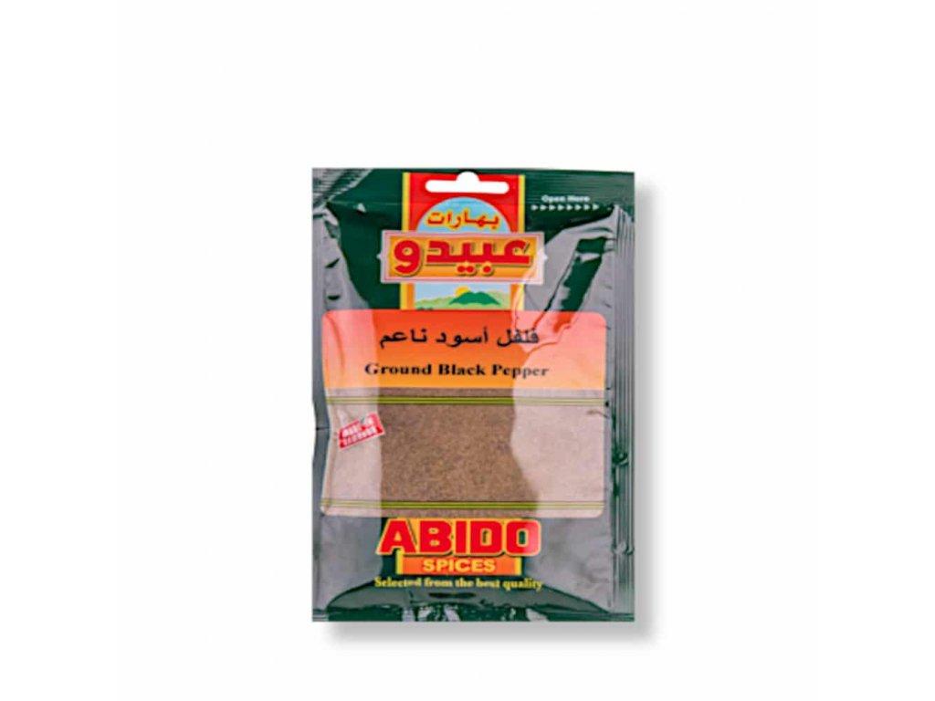 Abido Pepř černý Mletý 50g