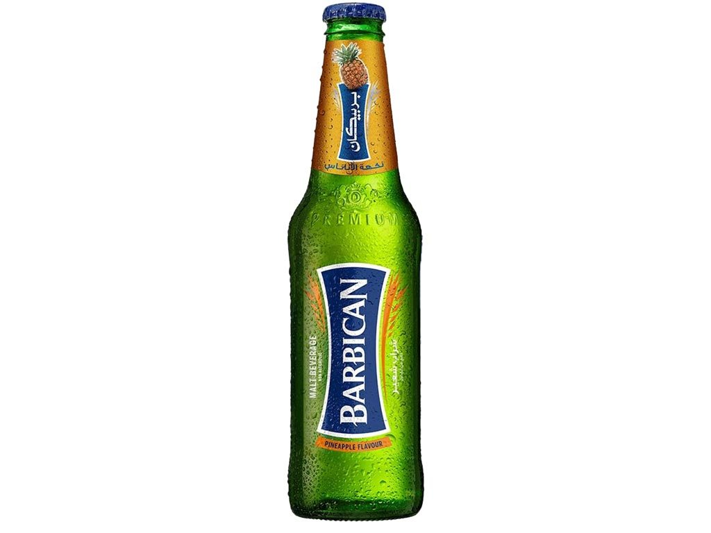 Barbican soft malt drink with pineapple flavor 330ml