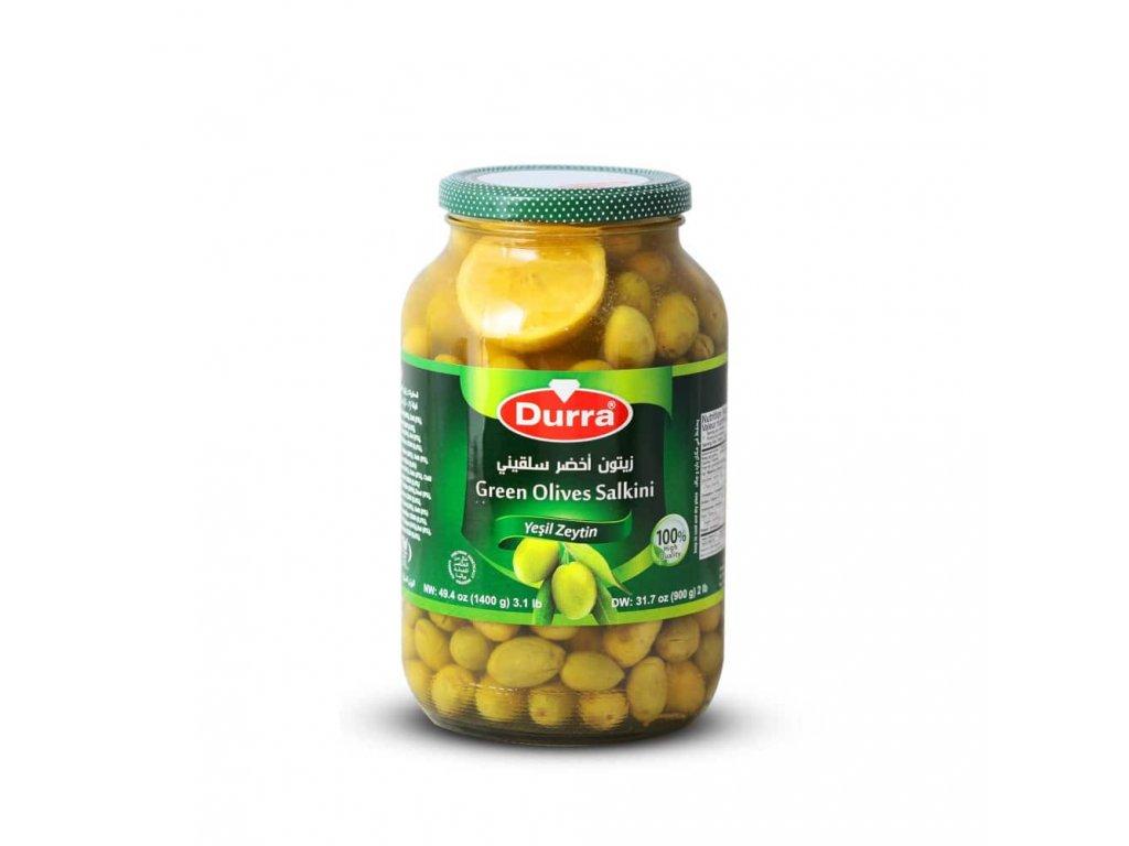Durra Olivy zelené, Salkini 1400g