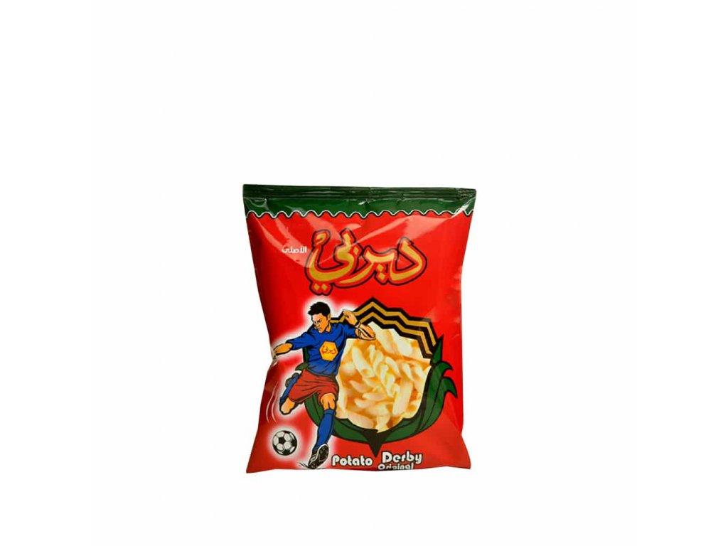 Derby, Chipsy bramborové křupavé 22g