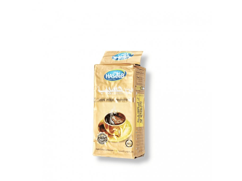 Haseeb Káva arabská super extra kardamon, Hararry 200g
