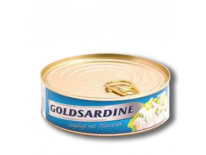 Sardinky zlaté  v rostlinném oleji 240g