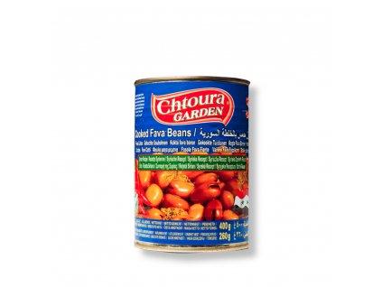 Chtoura Garden Boby konzerva Syrský recept 400g