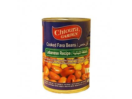 Chtoura Garden Boby konzerva, Libanonský Recept 400g