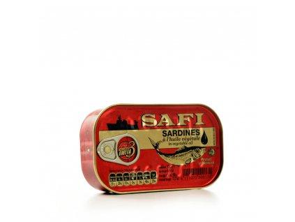 Safi Sardinky marocké v rostlinném oleji 125g