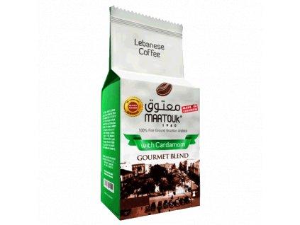 Maatouk Káva s kardamonem 450g