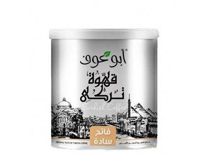Abu Auf Turecká káva 250g