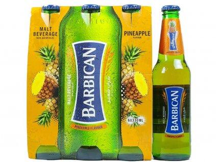 Barbican Nealkoholický sladový nápoj Ananas 6*330ml