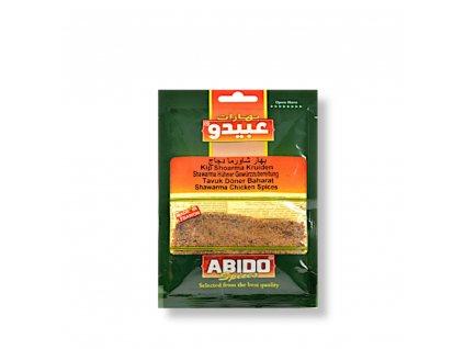 Abido Směs koření na kuřecí shawarmu (Gyros) 50g