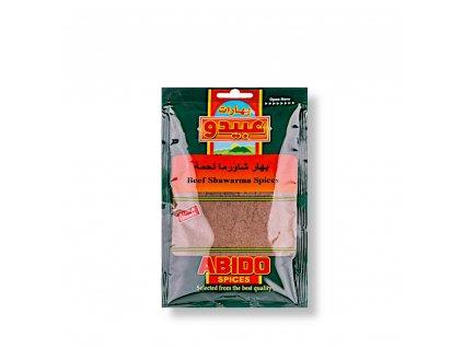 Abido Směs koření na shawarmu (Gyros) z čeveného masa 50g