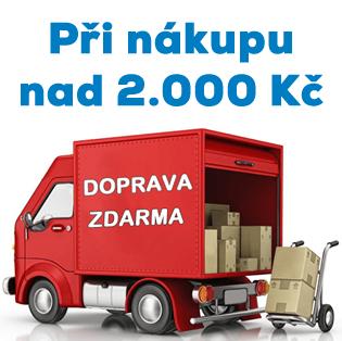 Doprava zdarma při nákupu nad 2.000 Kč.