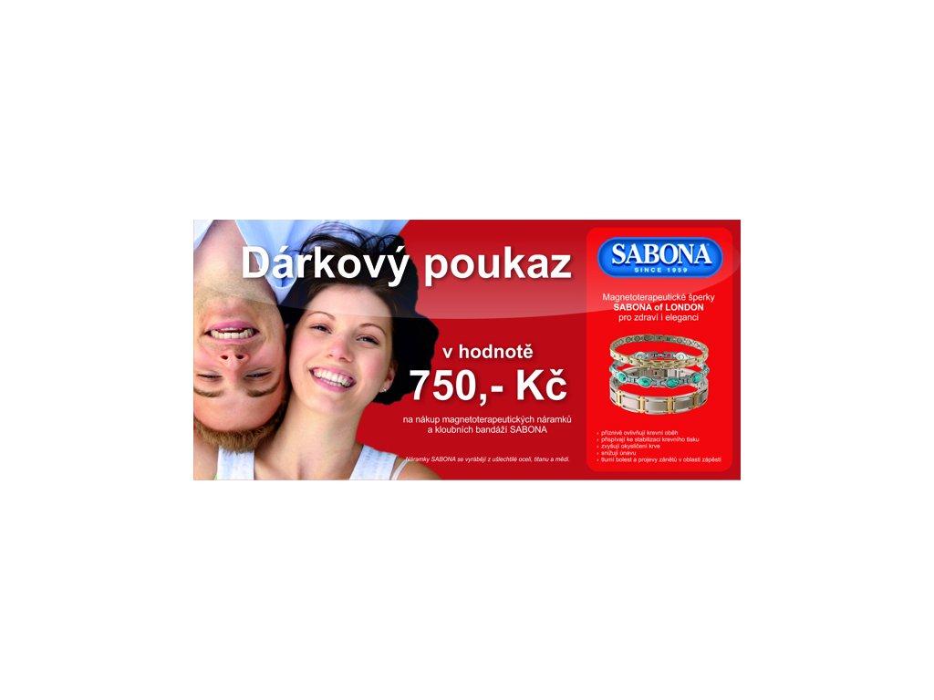 darkovy poukaz 750