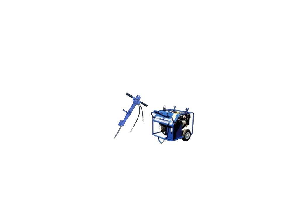 Ruční hydraulické bourací kladivo MARUZEN BH161