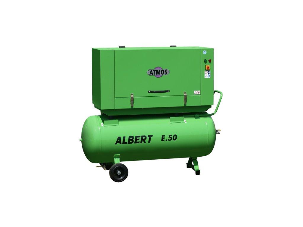 Stacionární šroubový kompresor Albert E.50