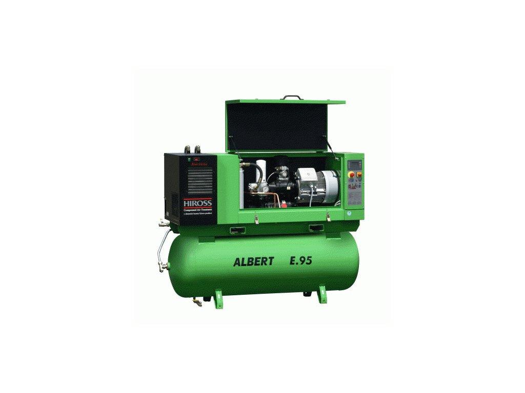 Stacionární šroubový kompresor Albert E.95