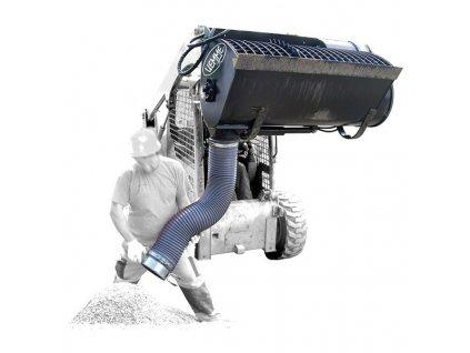 Boční vykládací cementový míchač CONDOR SL