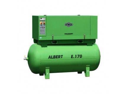 Stacionární šroubový kompresor Albert E.170