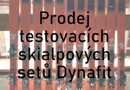 Prodej testovacích skialpových setů Dynafit