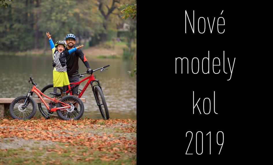 Nové modely kol Specialized 2019