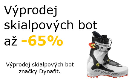 Výprodej skialpových bot