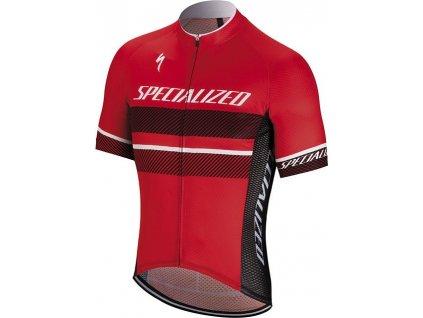 Cyklistické dresy s krátkým rukávem