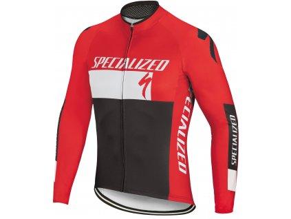Cyklistické dresy s dlouhým rukávem
