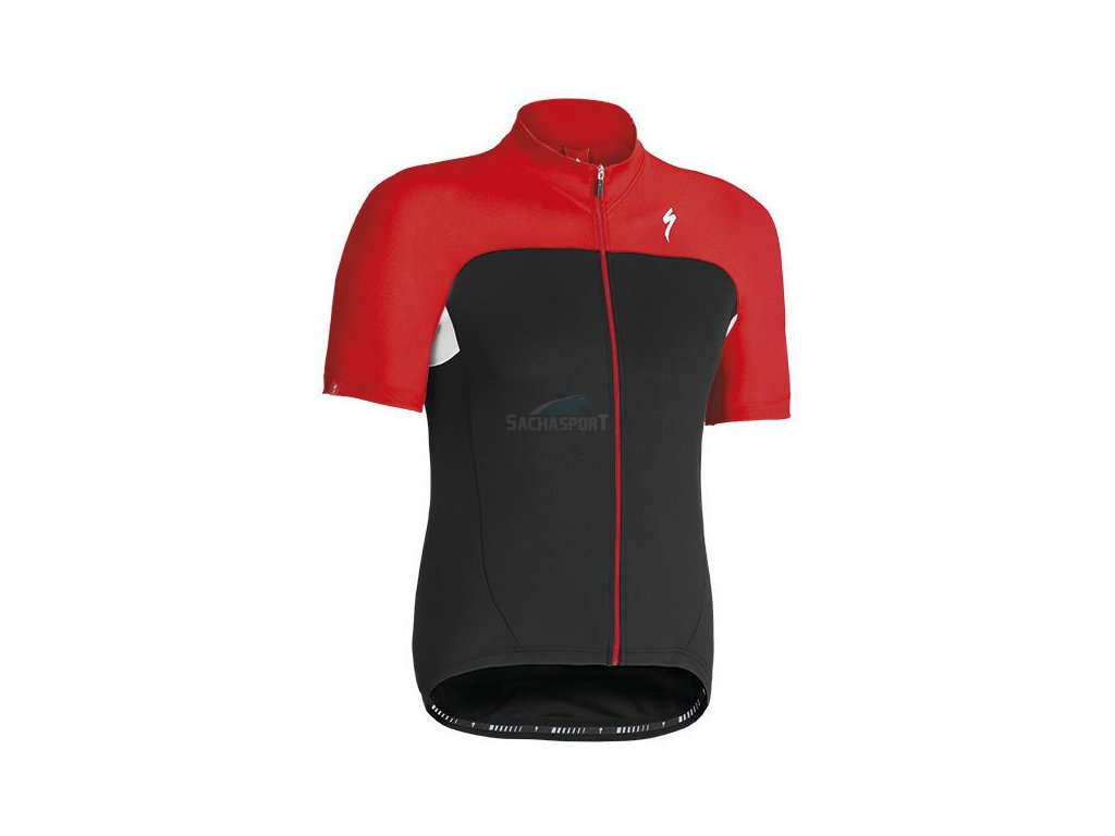 Dres Specialized RBX Sport Jersey SS black/red 2014