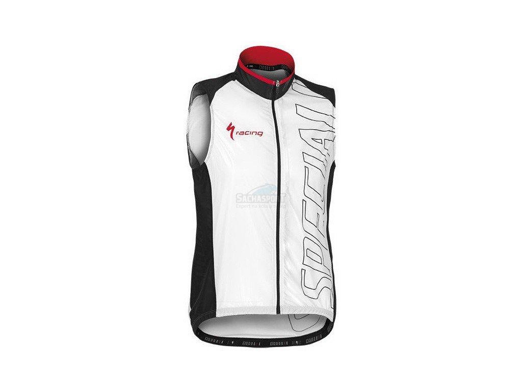 Vesta Specialized Replica Team Wind Vest white L 2015