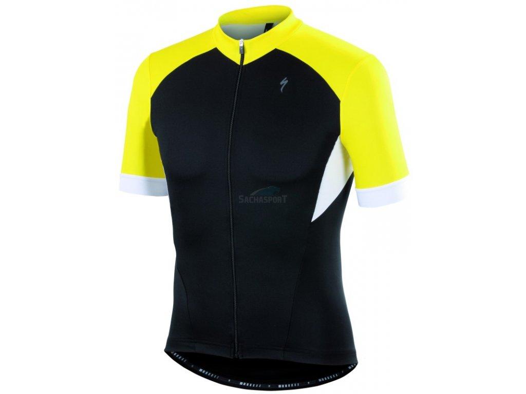 Dres Specialized RBX Sport Jersey SS black/yellow/wht 2015