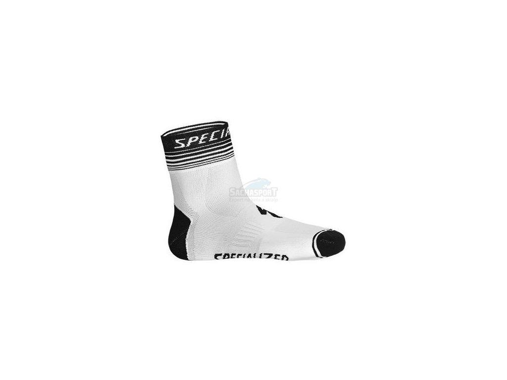 Ponožky Specialized SL Pro Sock white/black S 2014