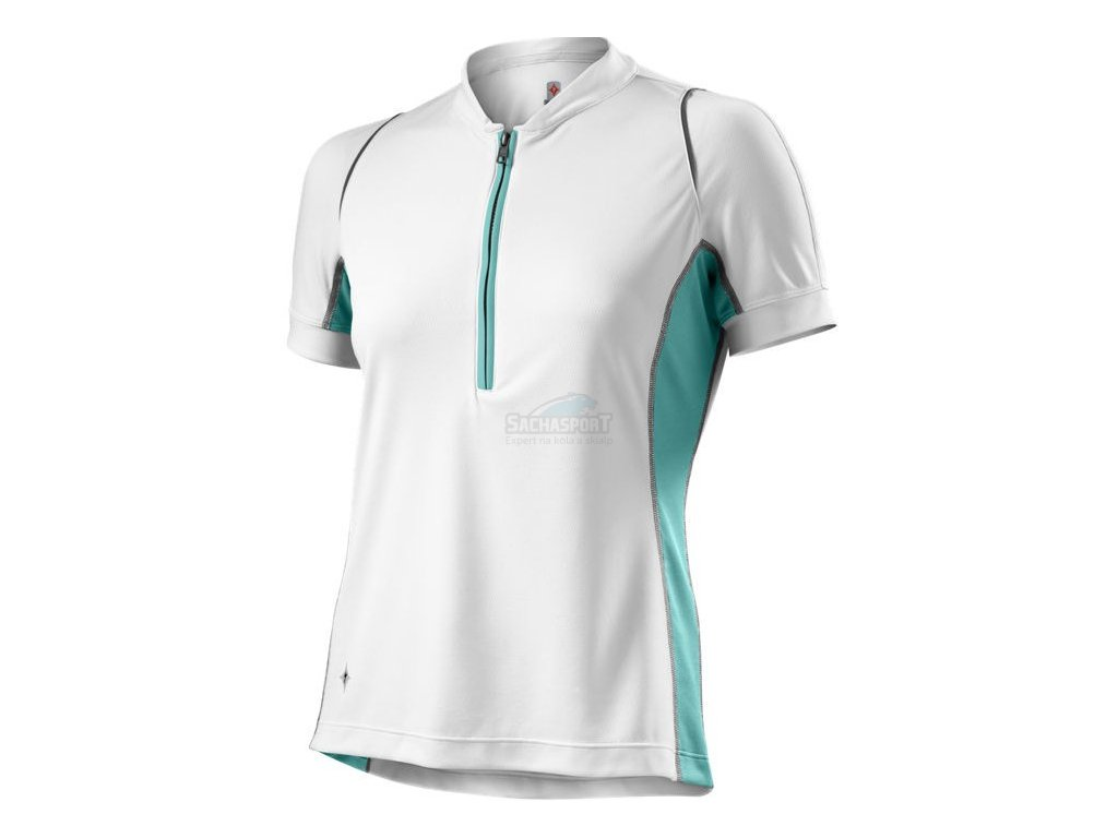 Dres Specialized Shasta SS Jersey WMN white/lt teal M 2014