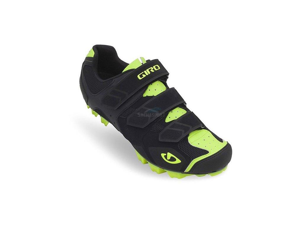 Giro Carbide black/highlight yellow