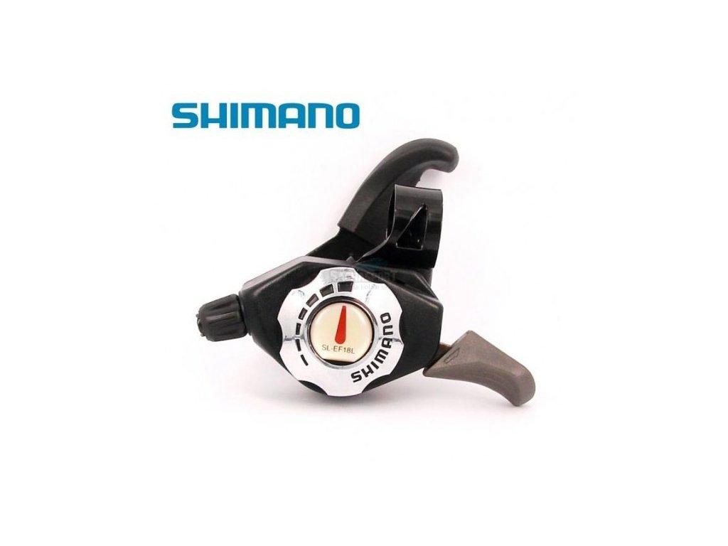 Řadící páčky Shimano SL-EF18L levá 6spd