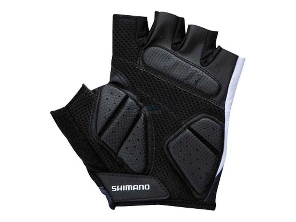 Rukavice Shimano Basic Comfort bílé