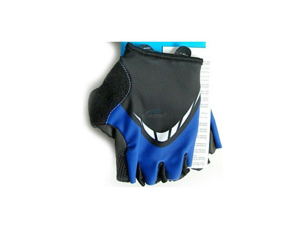 Rukavice Shimano Basic Comfort modré