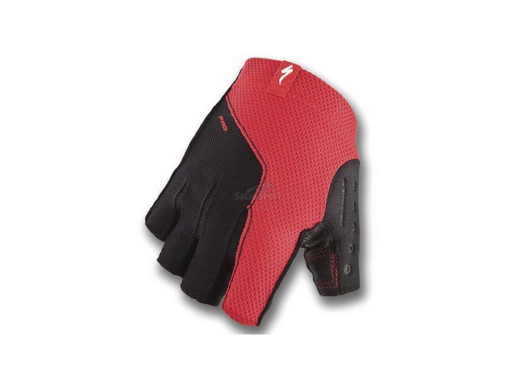 Rukavice Specialized BG Pro red S 2015
