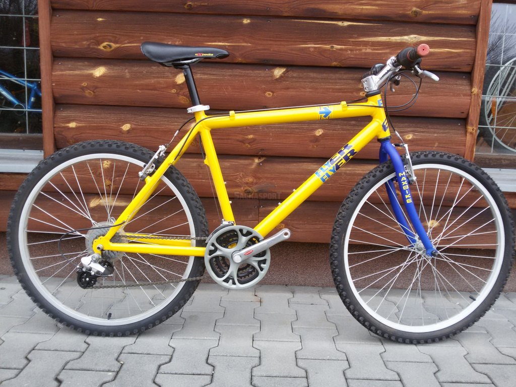 Flyer Arrow MTB 26 yellow L